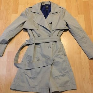 Armani Exchange Women's Trench Peacoat Size Small
